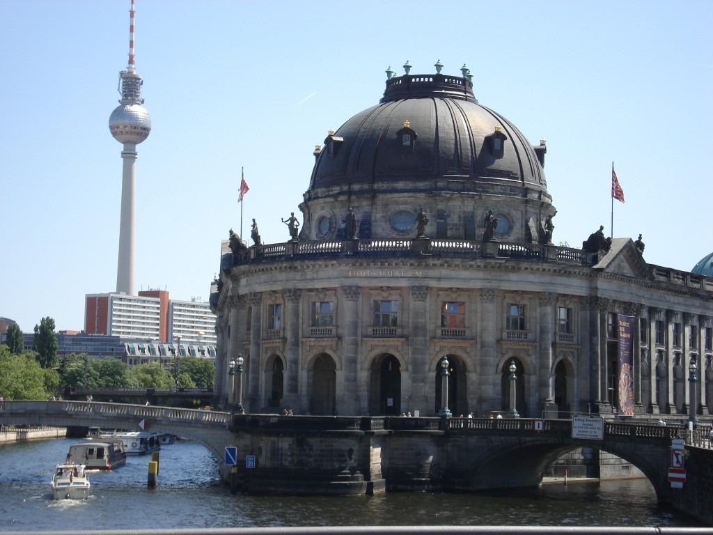 Radtour durch Berlin Mitte - Bodemuseum