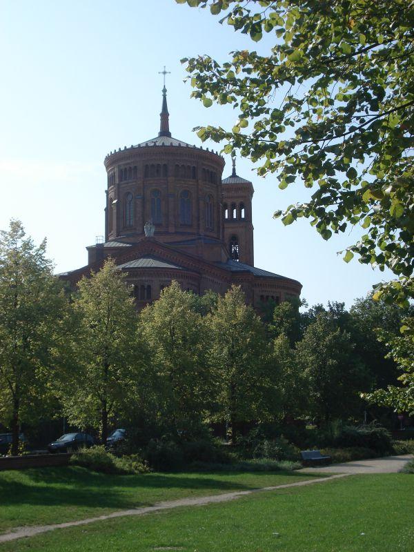 Radtour Berliner Mauerweg - St.-Thomas-Kirche