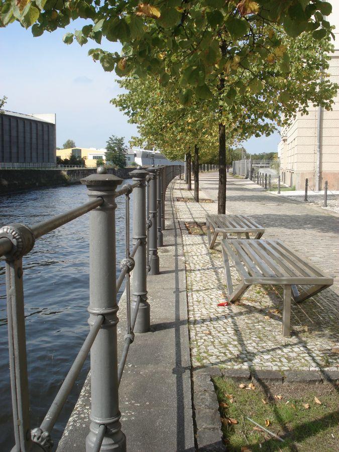 Radtour Berliner Mauerweg - Uferpromenade