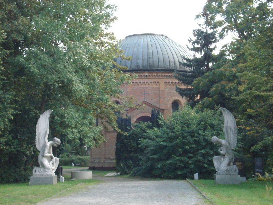Radtour Berliner Mauerweg - Französischer Friedhof