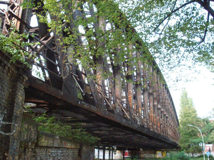 Radtour Berliner Mauerweg - Brücke