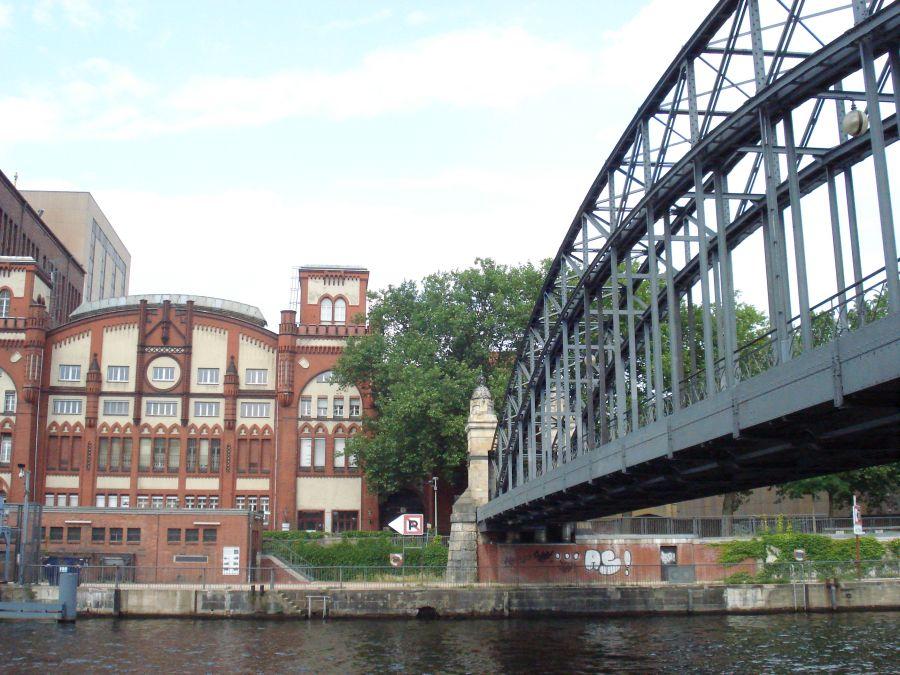 Radtour Schloss Charlottenburg - Brücke