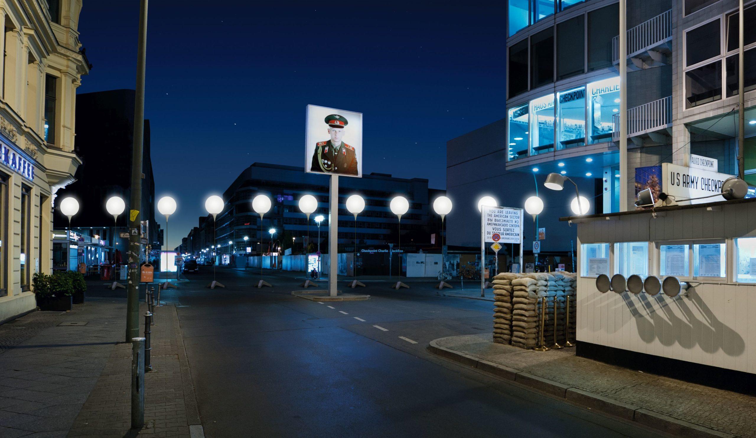 Lichtgrenze: Radtour Berliner Mauerweg