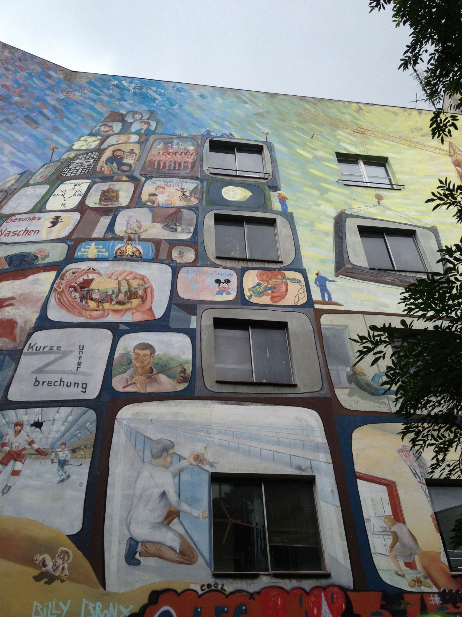 Radtour Berlin Kreuzberg - Tommy-Weisbecker-Haus
