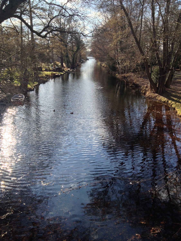 Spaziergang durch Potsdam Babelsberg
