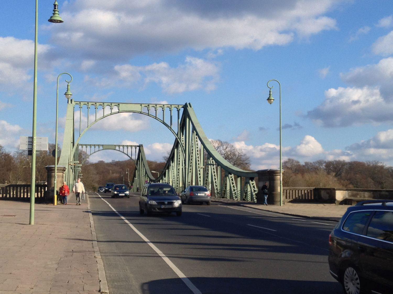 Spaziergang durch Potsdam Babelsberg - Glienicker Brücke