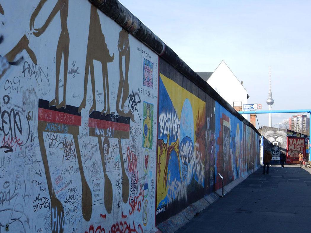 Radtour Berlin Friedrichshain - Berliner Mauer