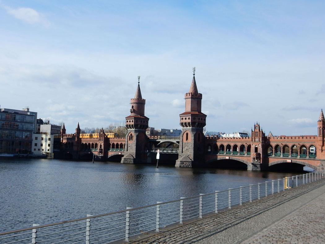Radtour Berlin Friedrichshain - Warschauer Brücke
