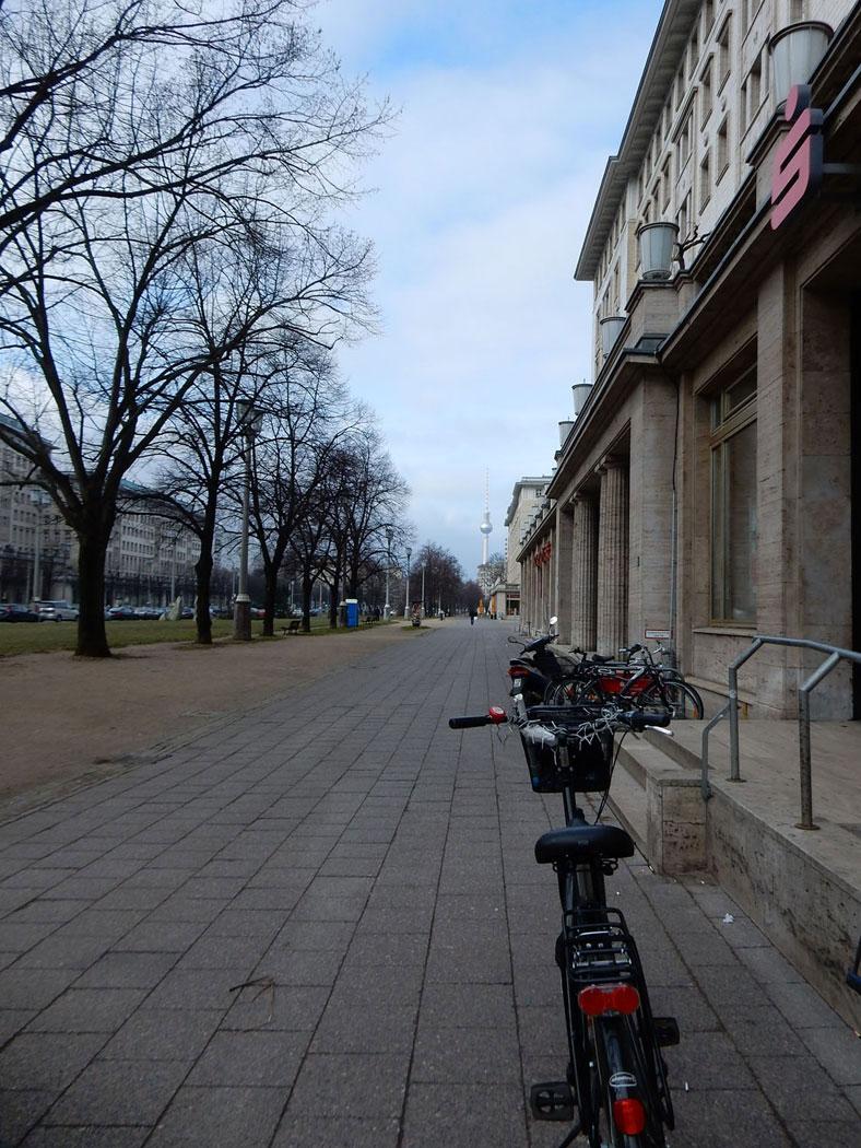 Radtour Berlin Friedrichshain - Karl-Marx-Allee