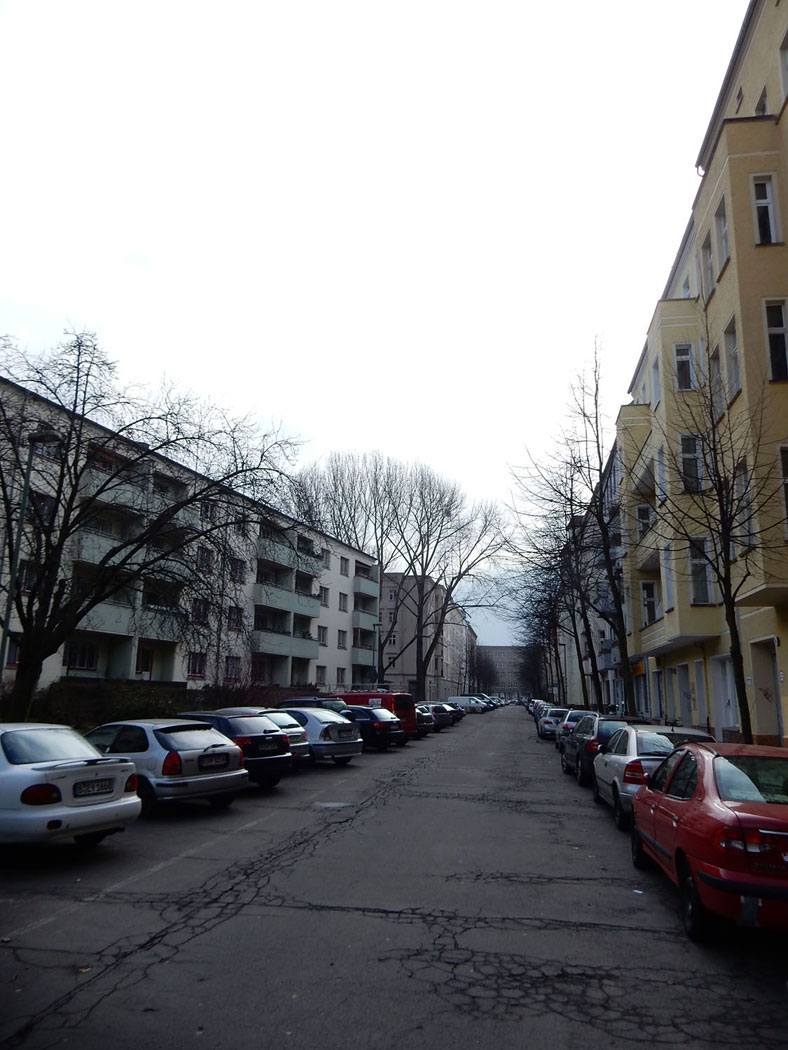 Radtour Berlin Friedrichshain - Gubener Str.
