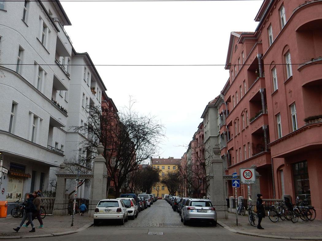 Radtour Berlin Friedrichshain - Knorrpromenade