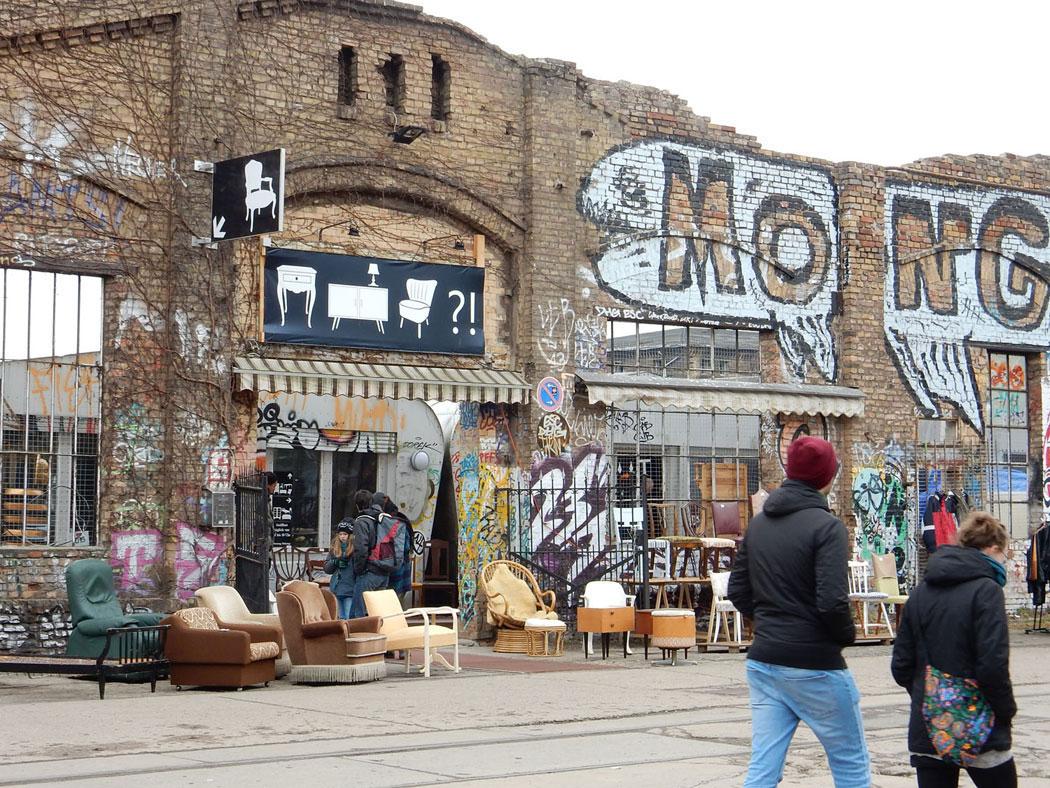 Radtour Berlin Friedrichshain - RAW