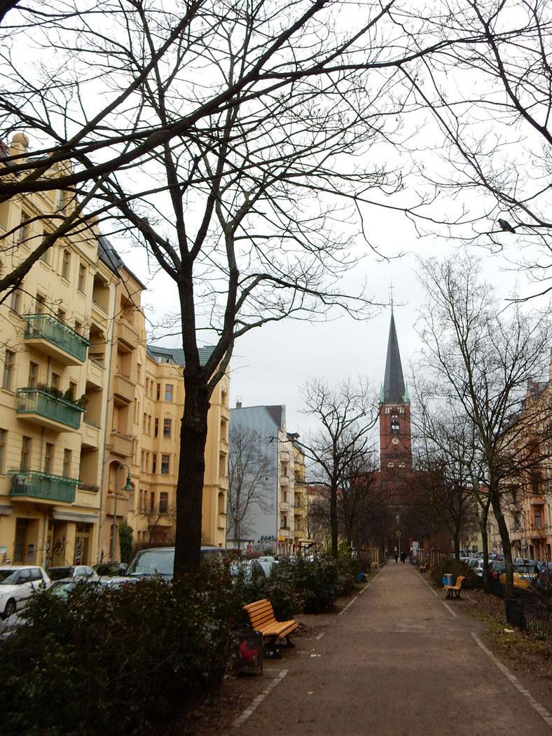 Radtour Berlin Friedrichshain - Bänschstraße