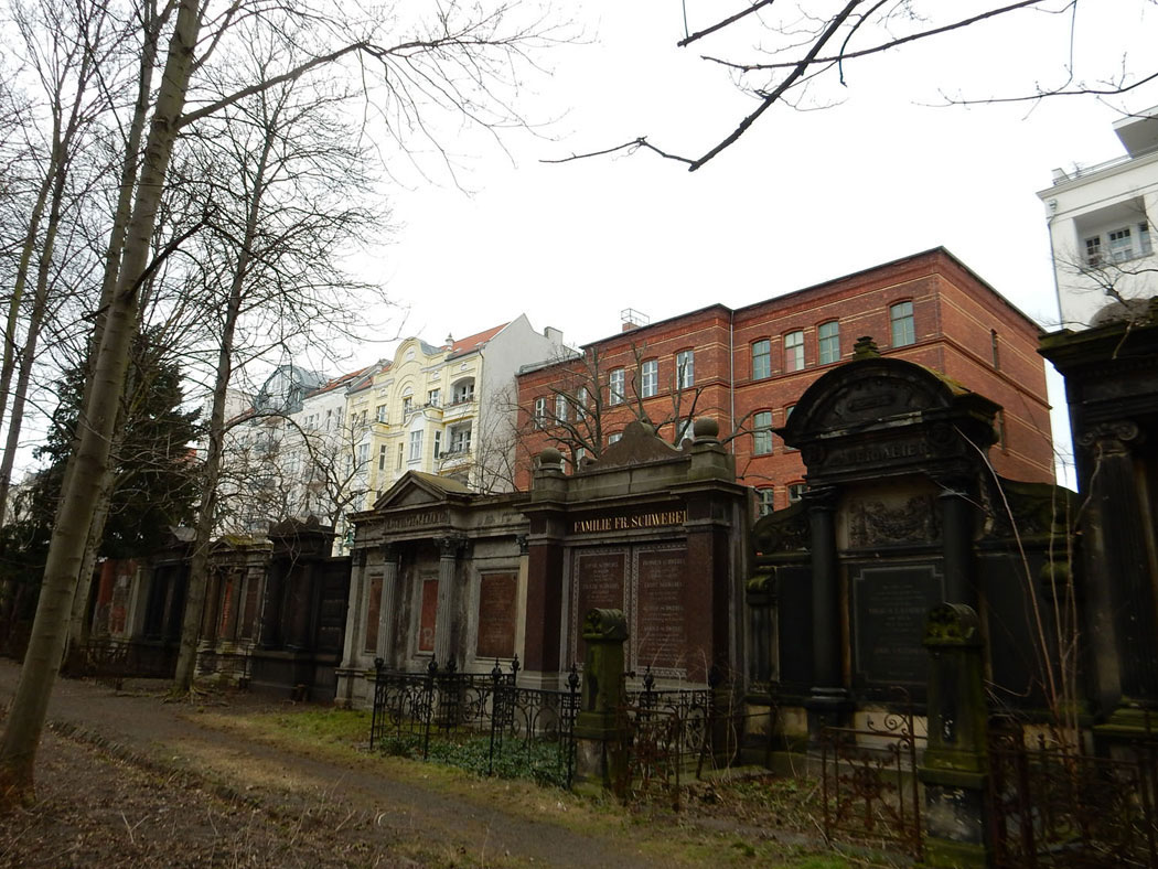 Radtour Berlin Friedrichshain - Georgen-Parochial-Friedhof