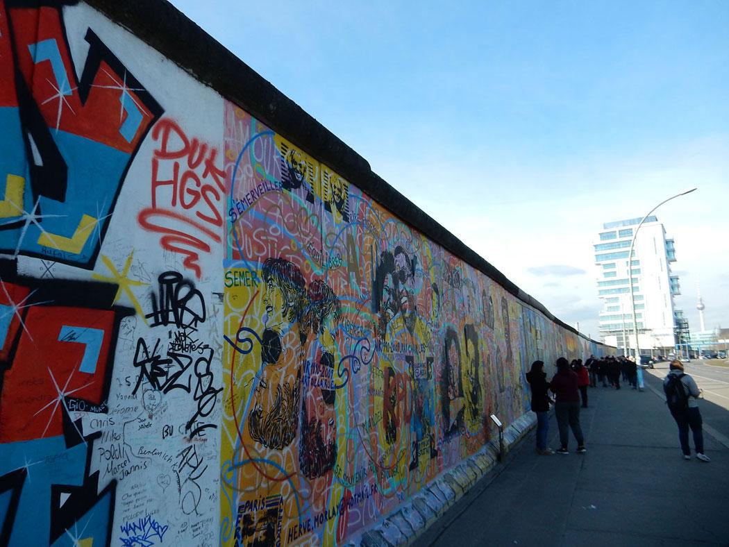 Radtour Berlin Friedrichshain - East Side Gallery