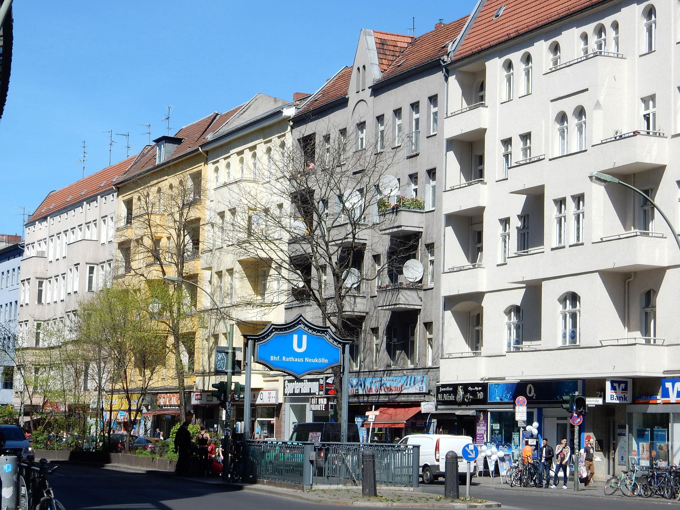 Radtour Berlin Neukölln - Karl-Marx-Straße