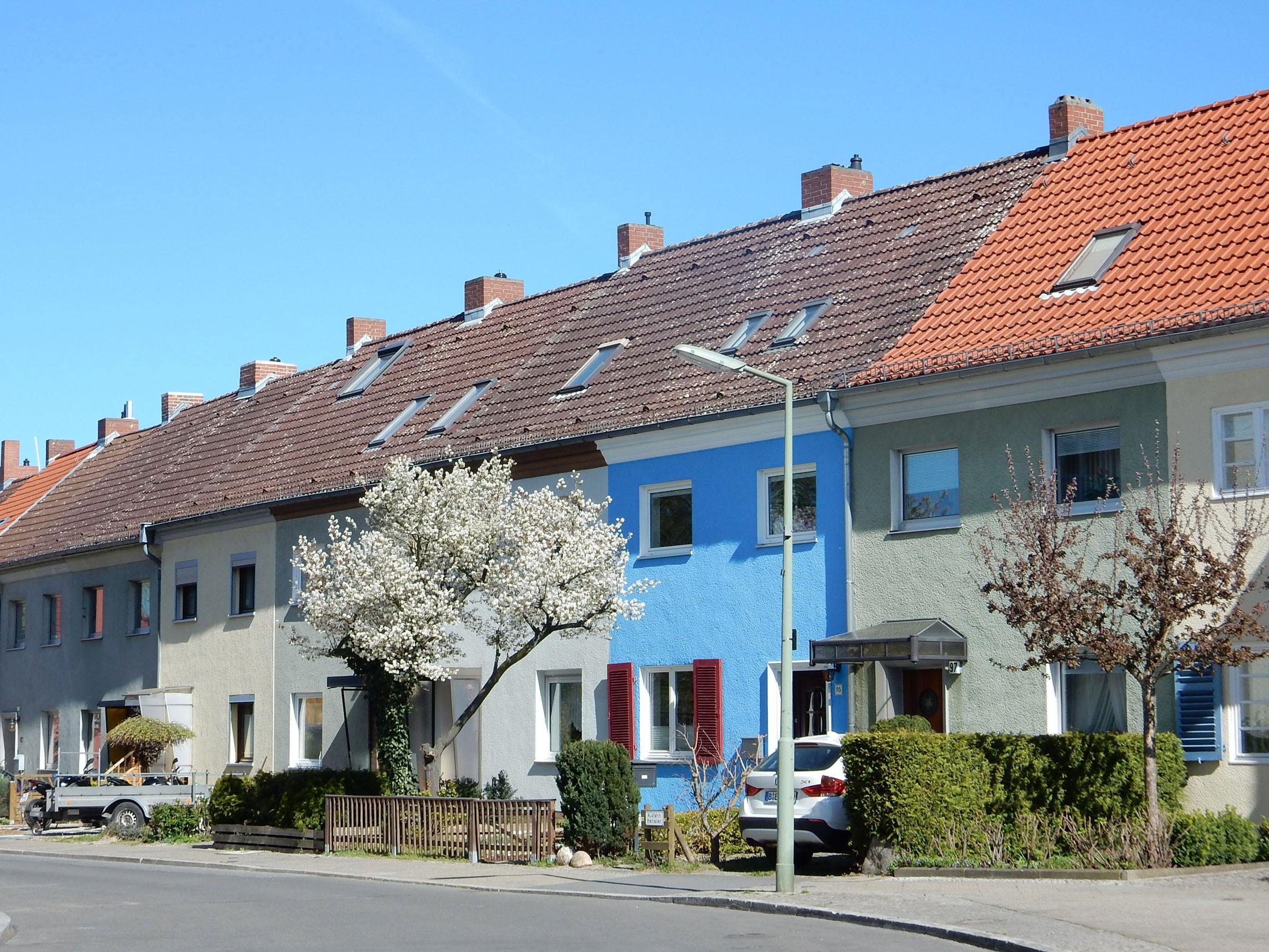 Radtour Berlin Neukölln - Hufeisensiedlung