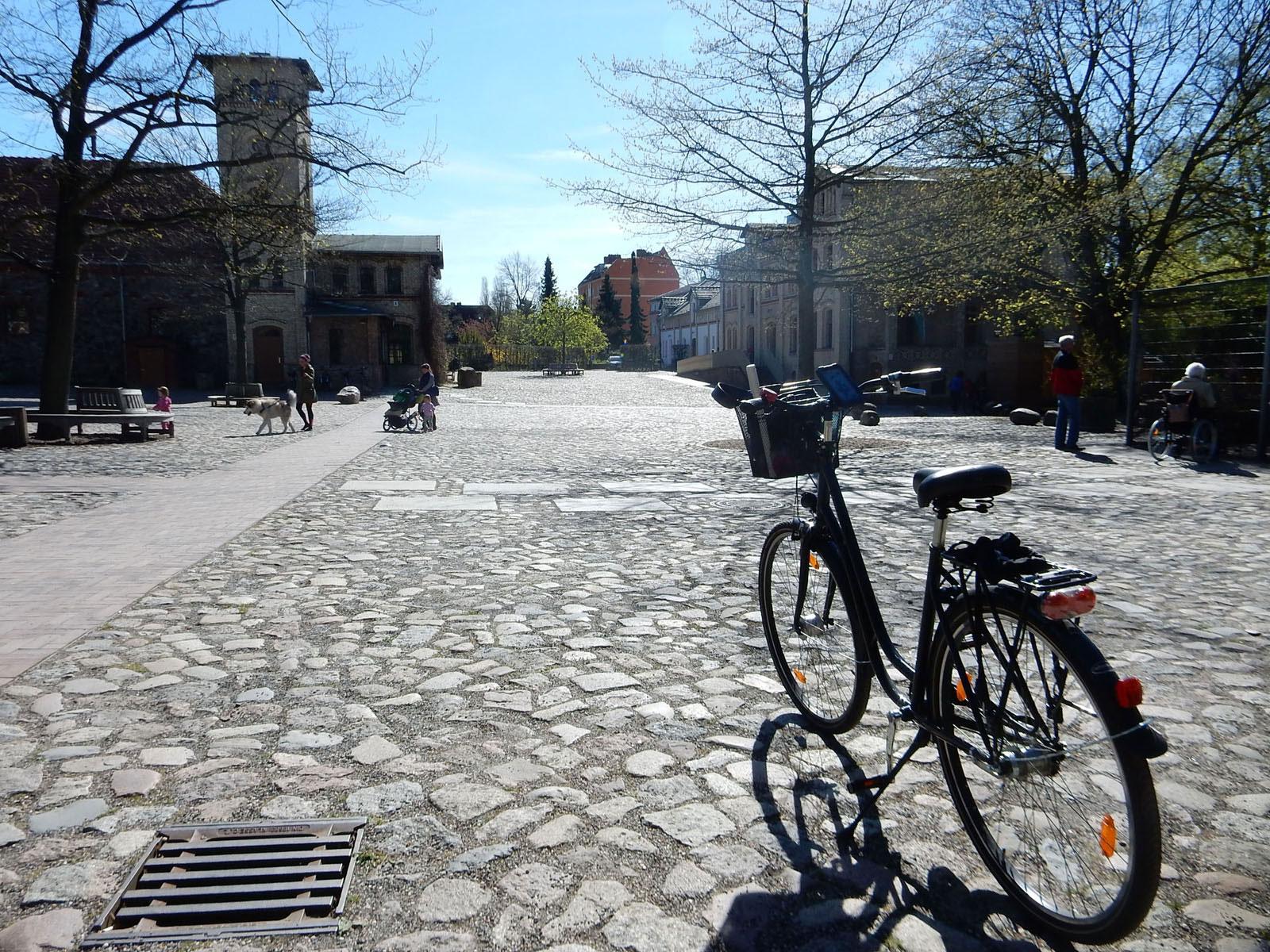 Radtour Berlin Neukölln - Gutshof Britz