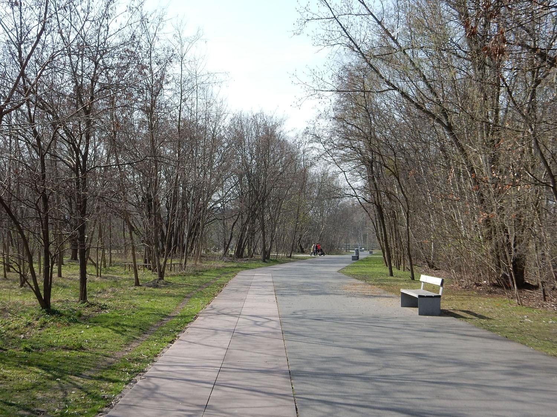 Radtour Berlin Schöneberg - Park am Gleisdreieck