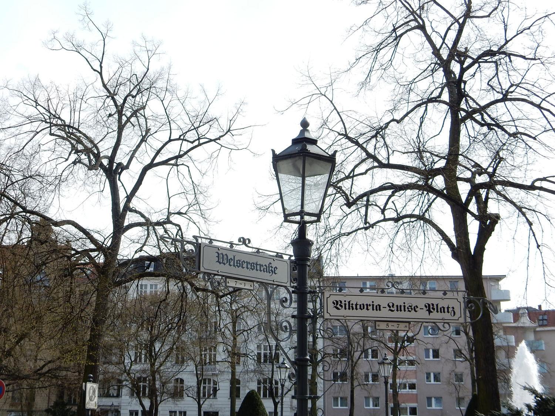 Radtour Berlin Schöneberg - Viktoria-Luise-Platz