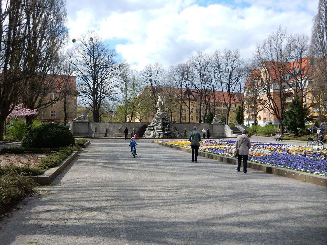 Spaziergang Rheingauviertel Berlin