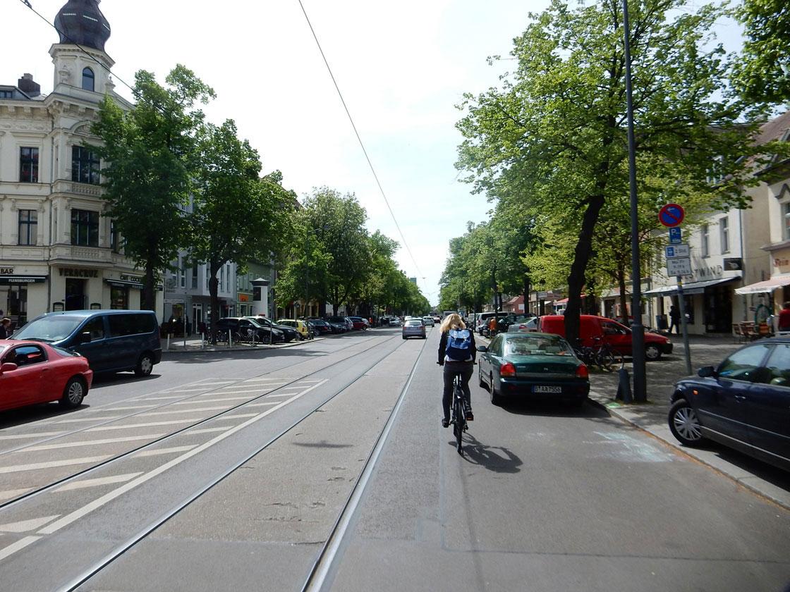 Radtour Berlin Müggelsee - Bölschestraße
