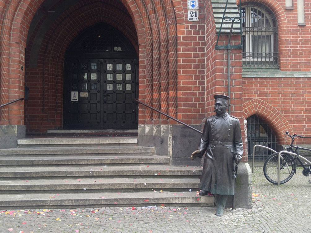 Radtour vom Treptower Park nach Köpenick - Rathaus Köpenick