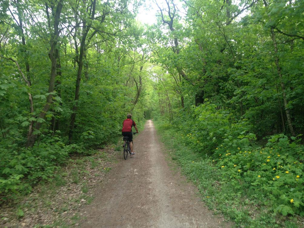 Radtour vom Treptower Park nach Köpenick