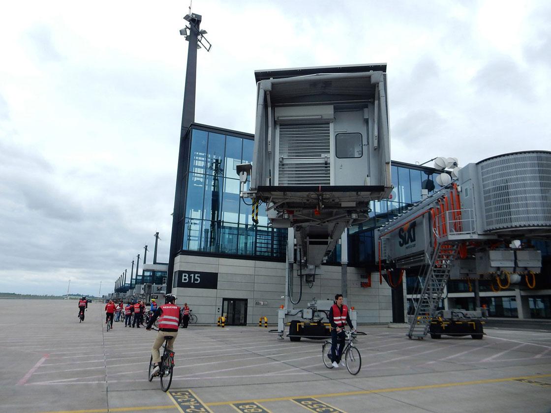 Radtour Flughafen Schönefeld
