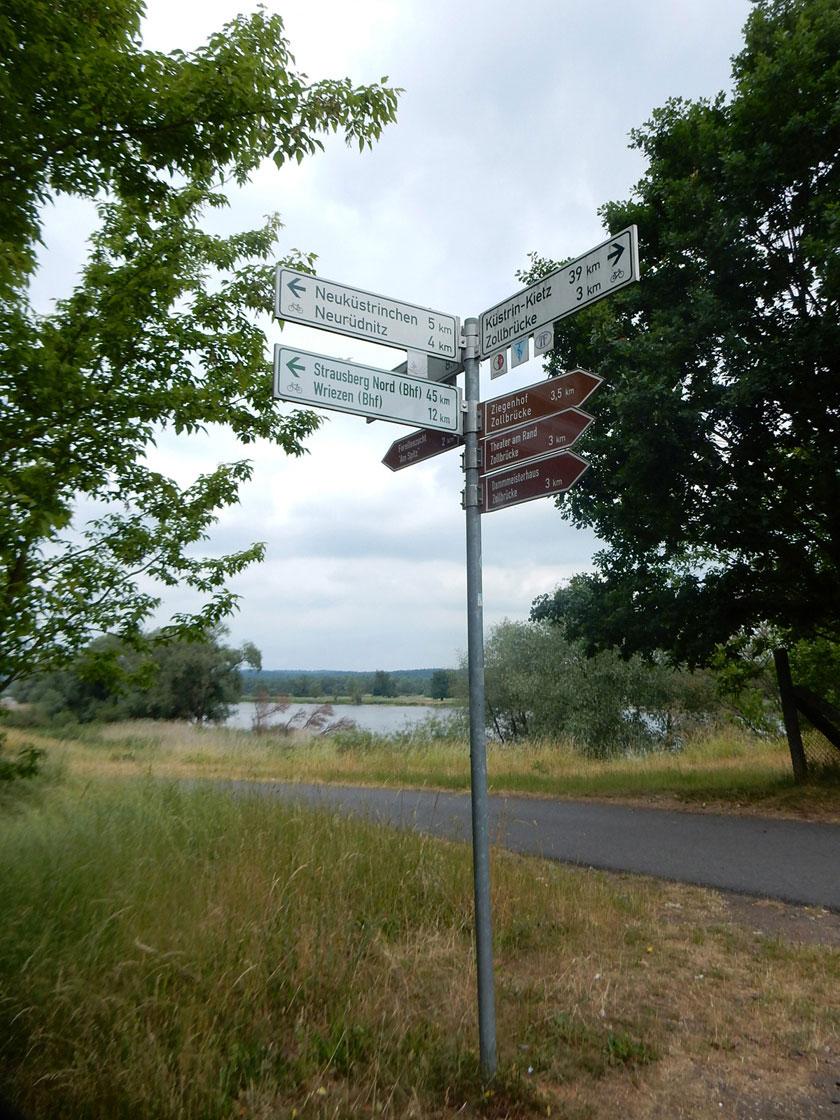Radtour Oder-Neiße-Radweg