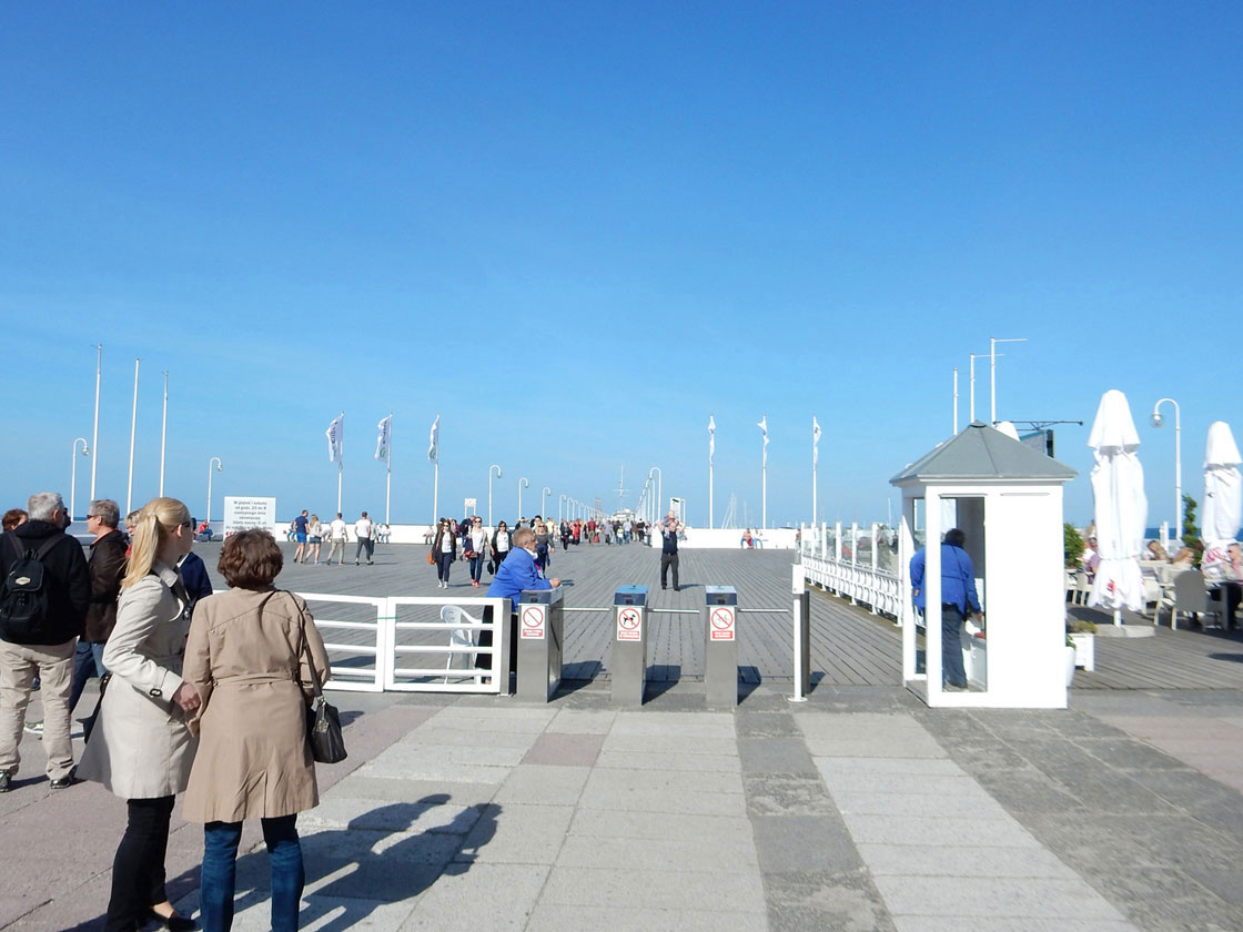 Zoppot Seebrücke