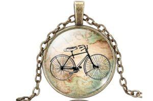 Fahrrad Halskette