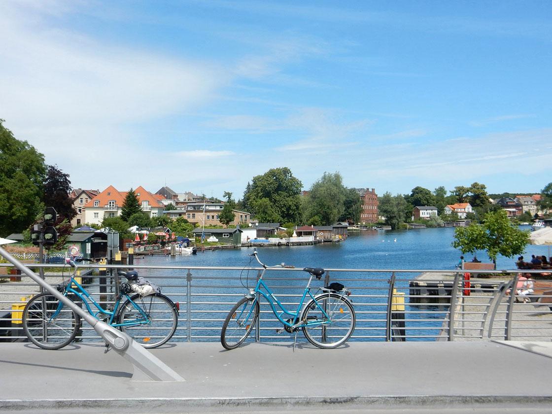 Radtour Fleesensee Kölpinsee Müritz