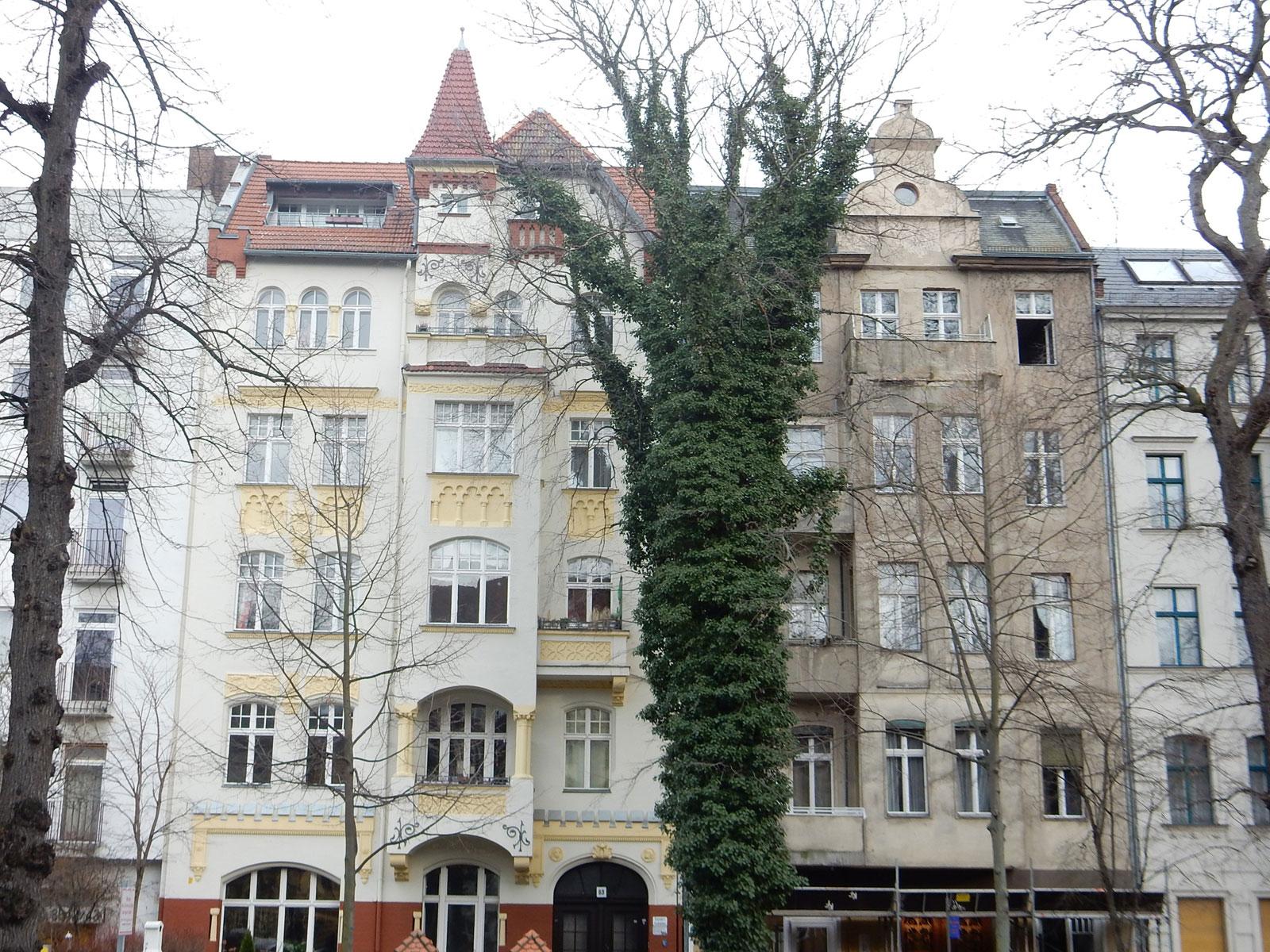 Spaziergang Schloßstraße Charlottenburg