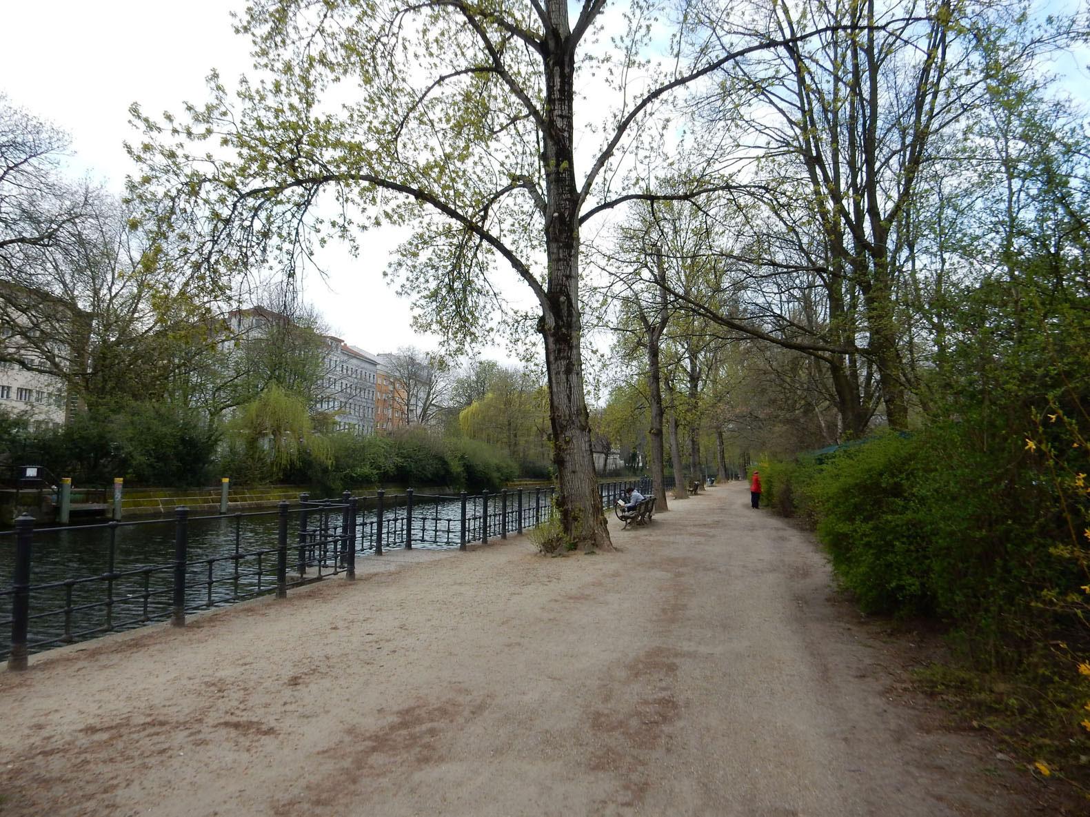 Radtour Berlin Landwehrkanal
