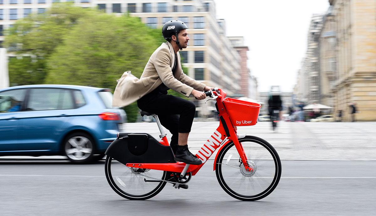 Bike Sharing in Berlin - Jump by Uber