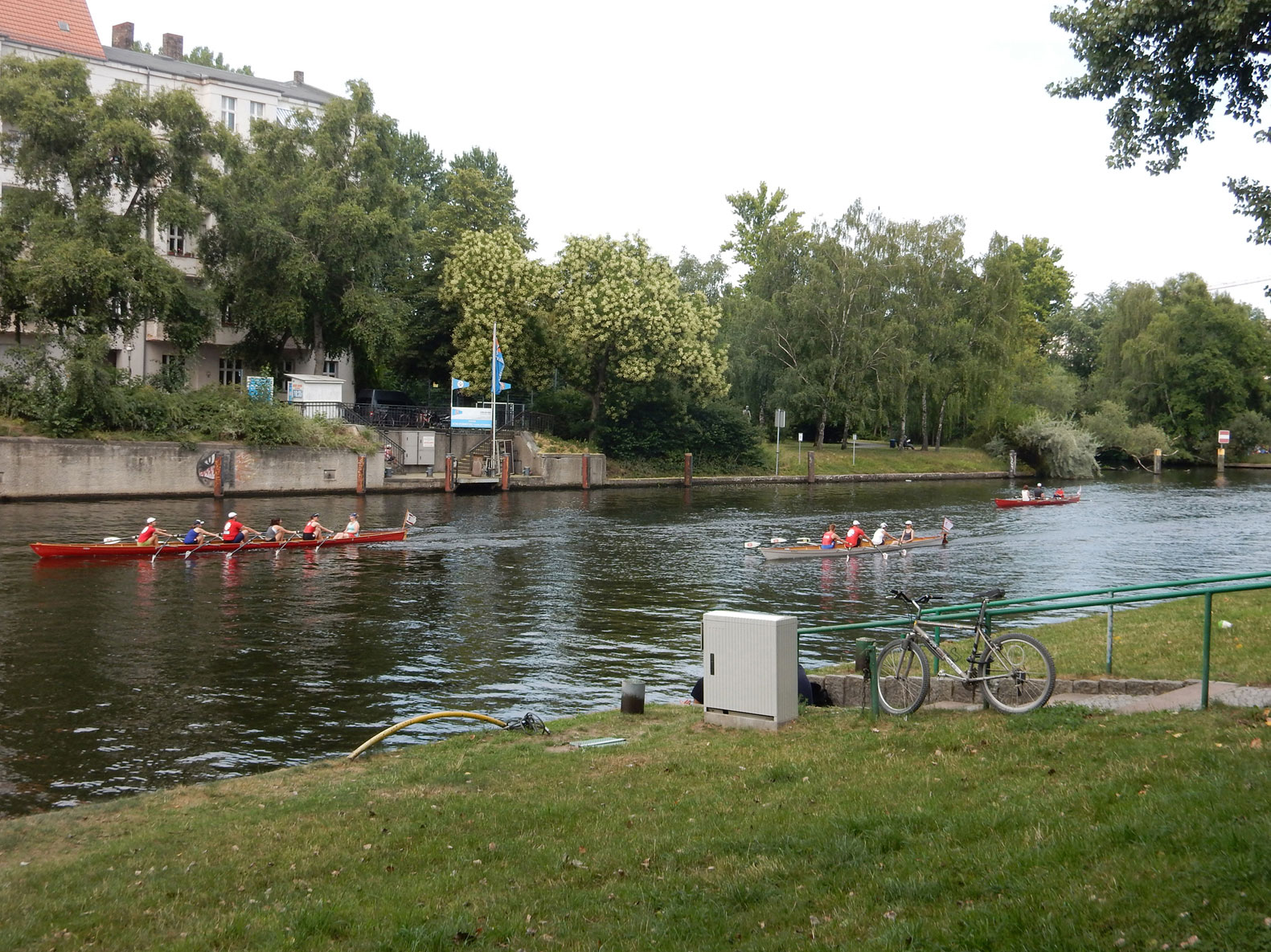 Radtour Grunewald nach Tempelhof