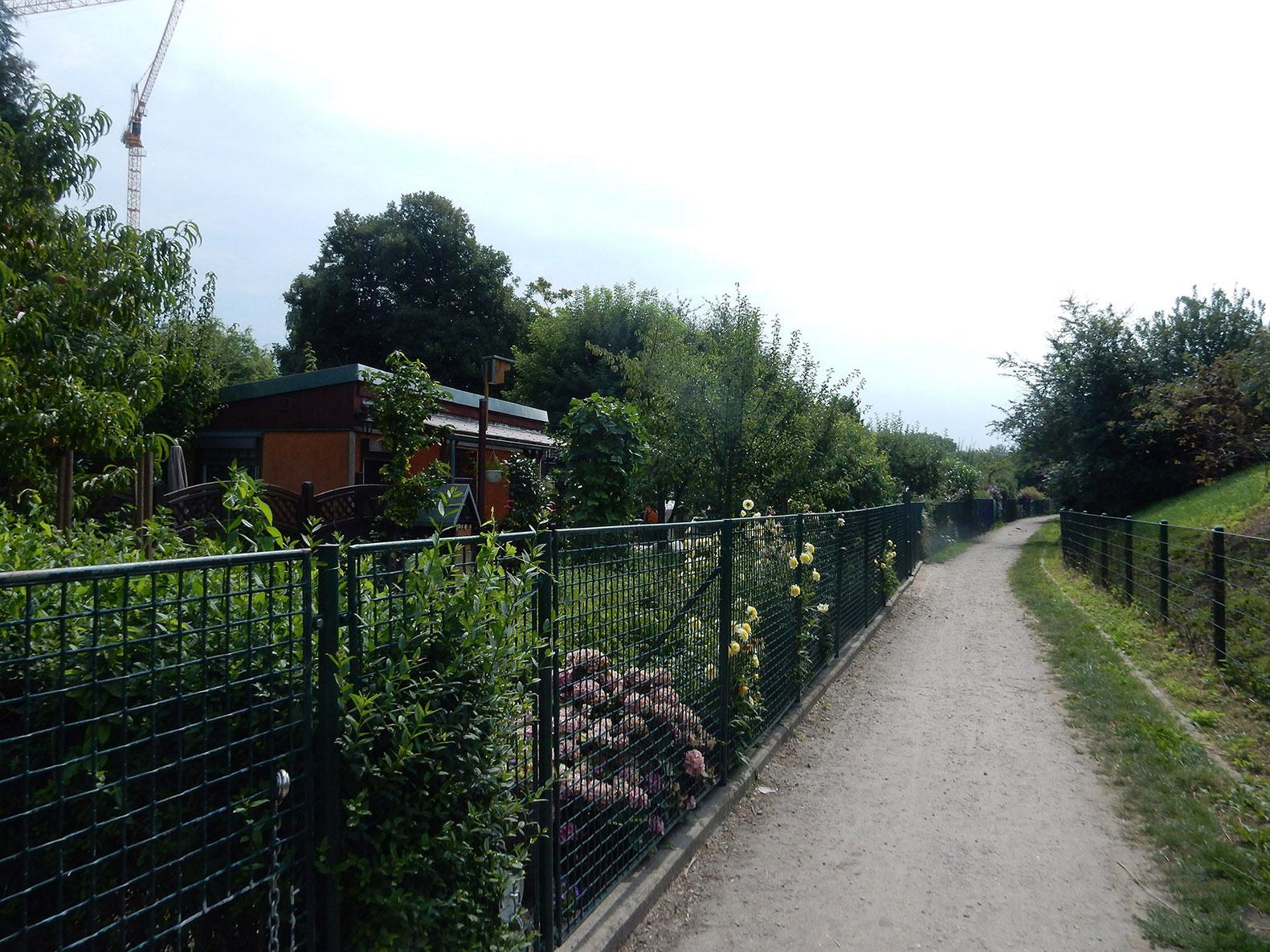 Radtour durch Friedrichsfelde, Karlshorst und Schöneweide