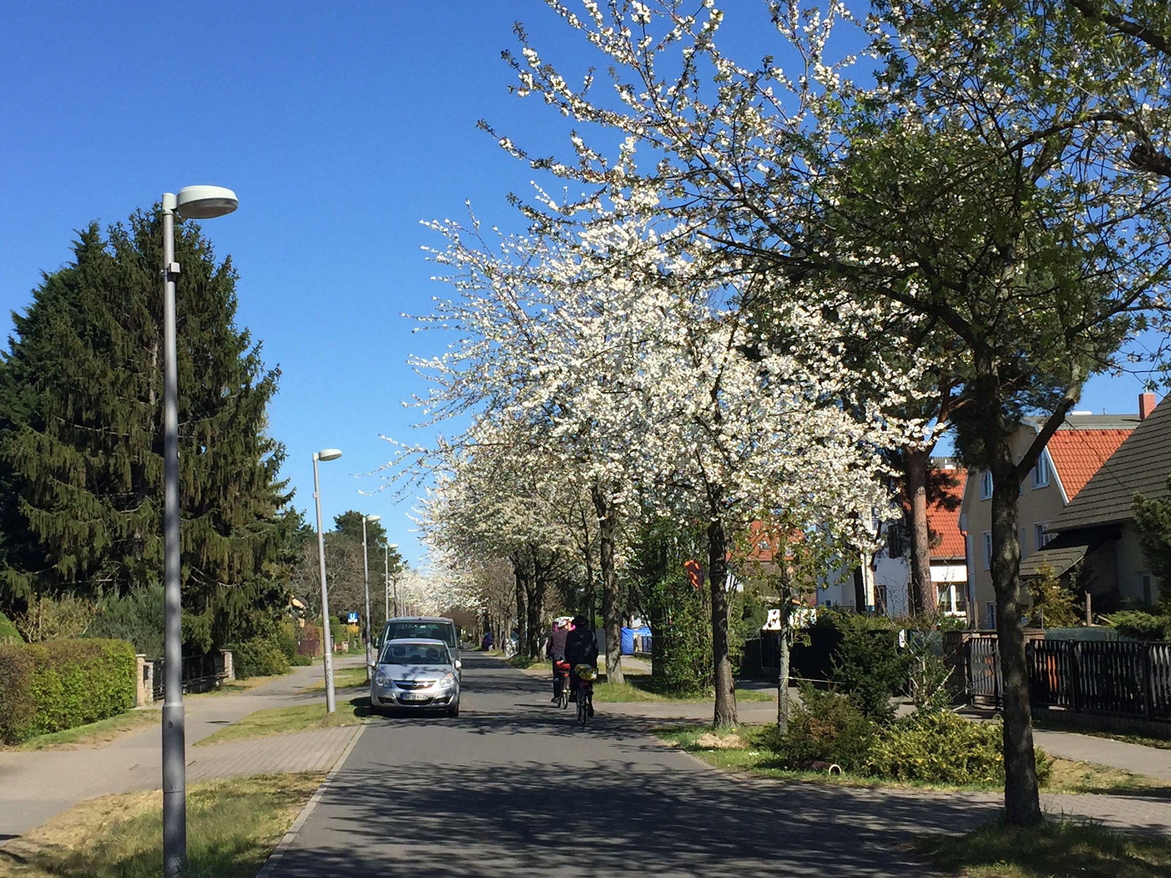 Radtour Kaulsdorfer Weg Berlin