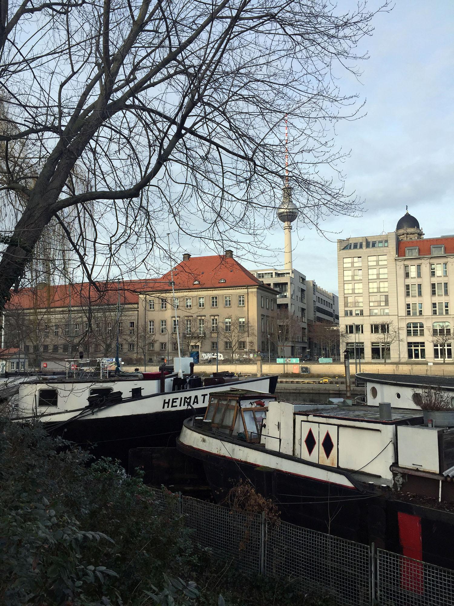 Spaziergang durch das alte Berlin