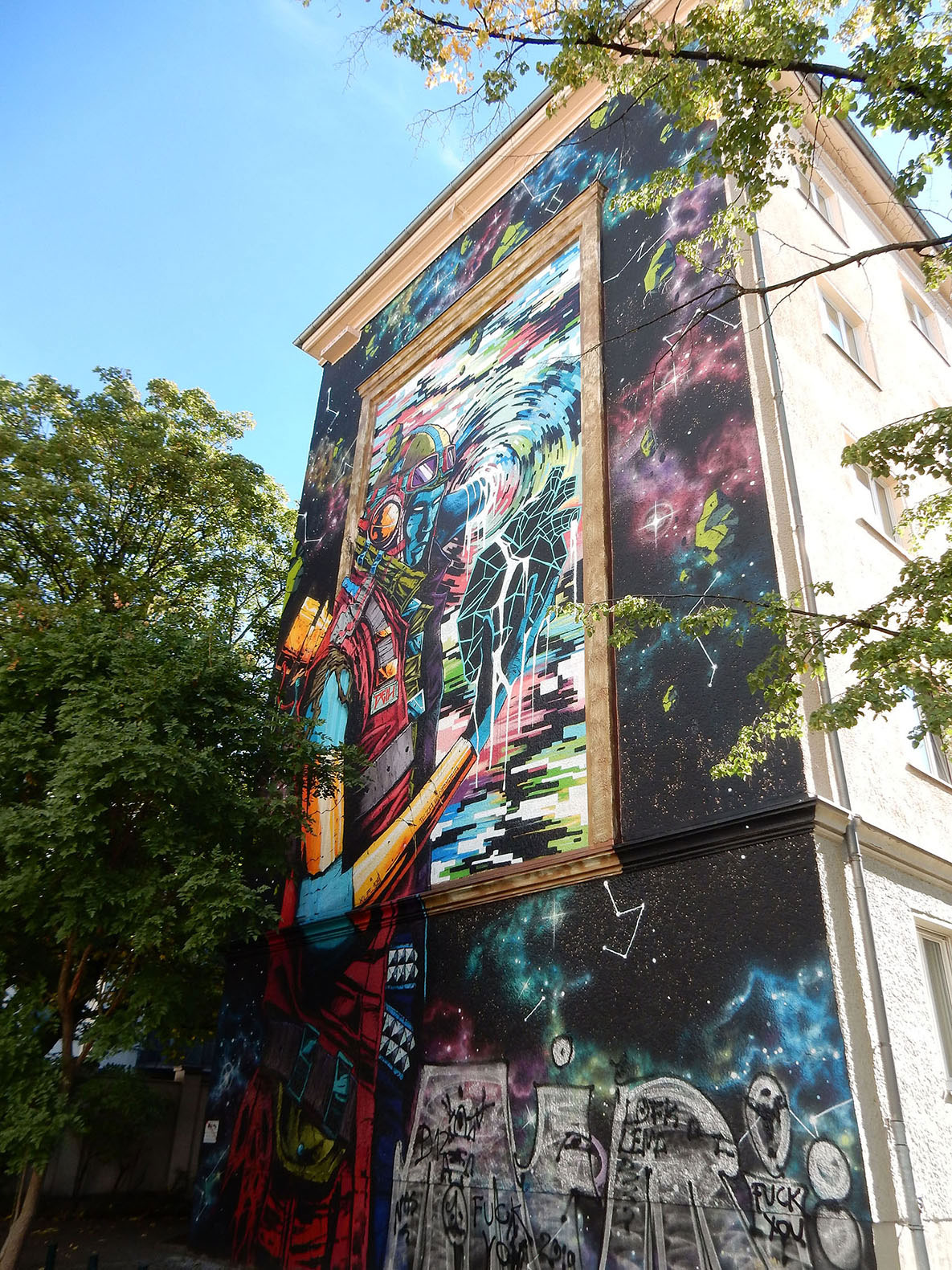 Graffiti in Prenzlauer Berg