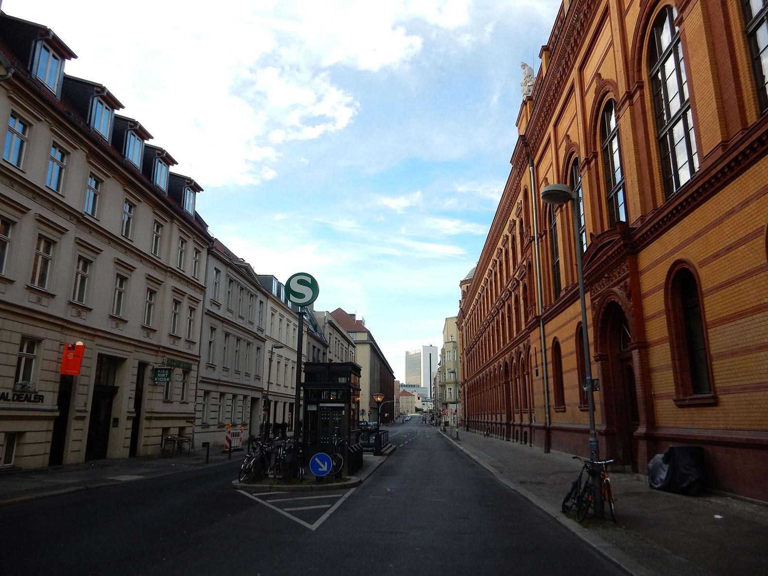 Radtour von Mitte nach Tegel