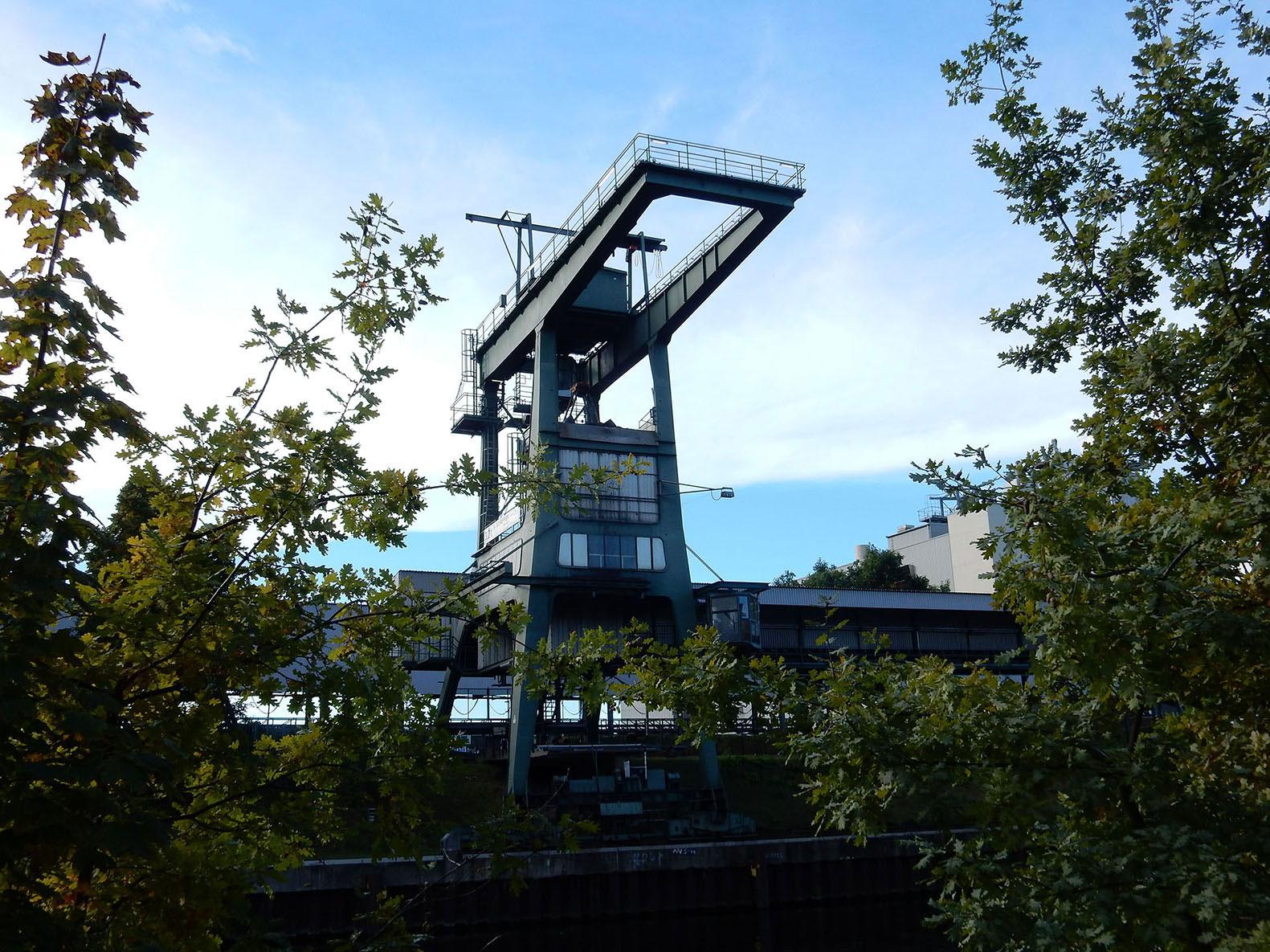 Industrie am Kanal