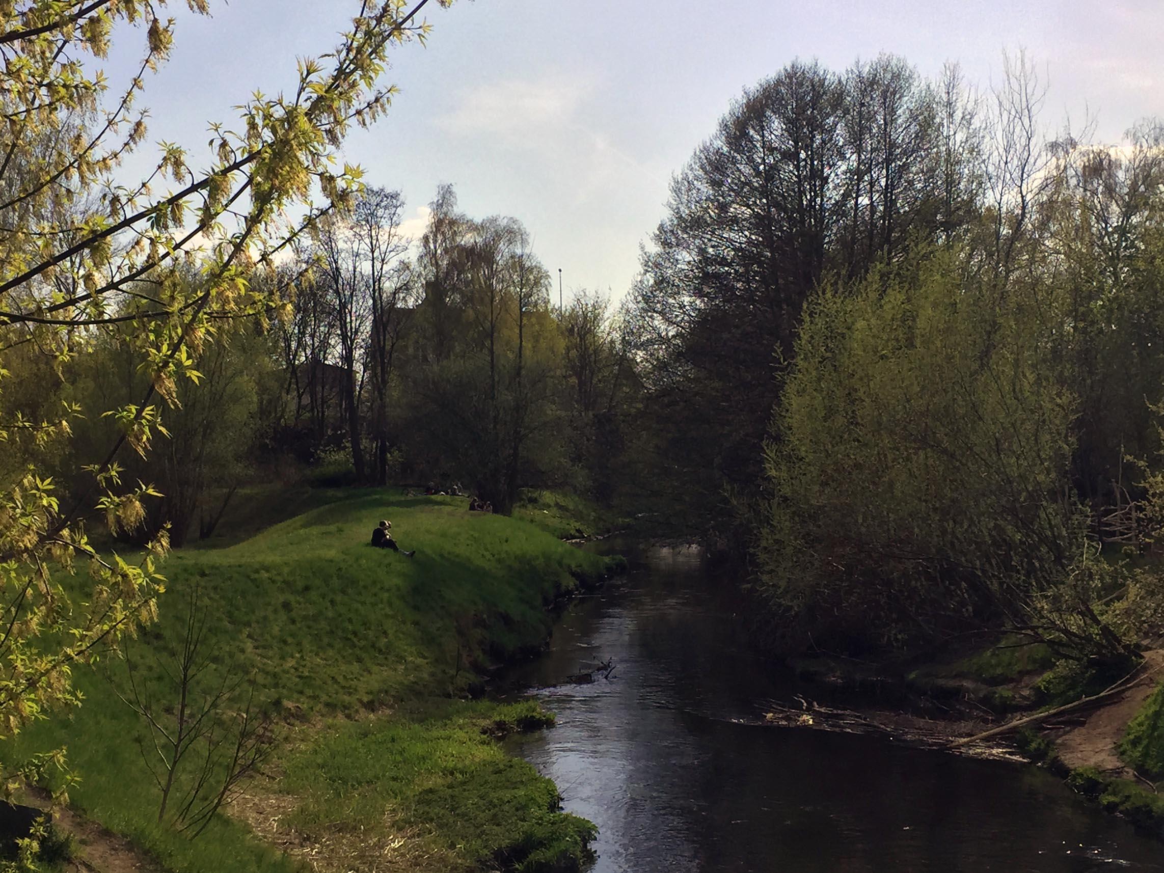 Radtour Lübarser Weg Berlin