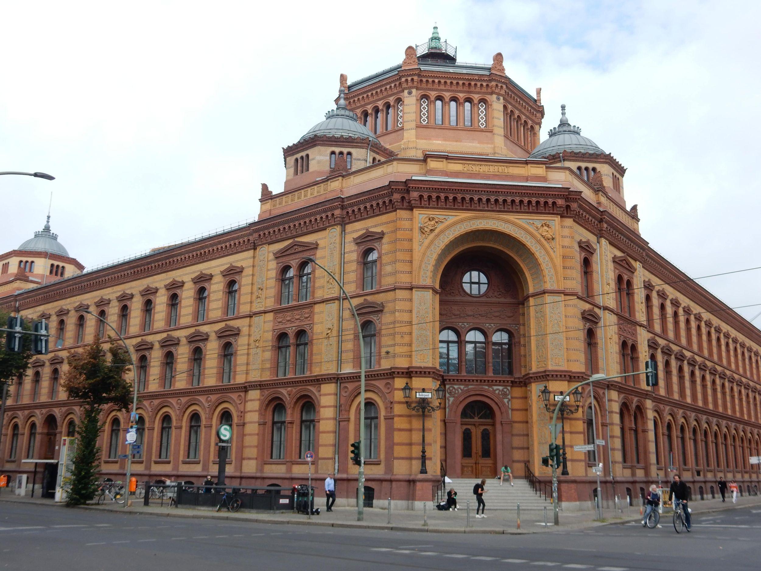 Ehemaliges Postfuhramt Berlin Mitte